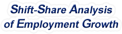 Shift-Share Analysis of Washington Employment Growth and Shift Share Analysis Tools for Washington